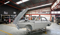 BMW 530 MLE restoration underway