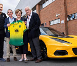 Lotus drives premier performance as official partner of Norwich City football club