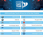 These cars could win the 2020 AutoTrader South African Car of the Year!
