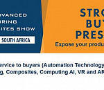 African Advanced Manufacturing and Composites Show - Expose your product/service to buyers