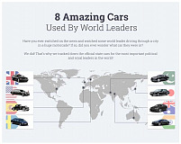 8 Amazing Cars that World Leaders Drive