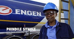 Engen celebrates women truck drivers this International Women Day