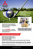 Drive your ambition to the golf course with the Mitsubishi Motors Golf Day and JOE lil'brary