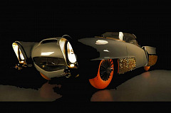 World Premiere of Restored 1950's Autonomous Concept Vehicle Golden Sahara II with Goodyear Tyres