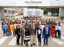 Volkswagen Group South Africa tackling youth unemployment by providing work-experience for 560 people