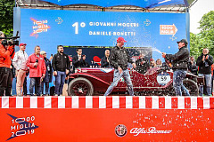 Alfa Romeo triumphs at the 1000 Miglia 2019: 1st and 2nd!