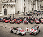 Alfa Romeo passion at fever pitch: the 2019 1000 Miglia is under way