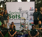 Ford South Africa Gives the Springbots a Boost to Compete at FIRST Robotics World Championships
