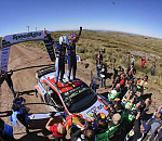 Hyundai takes top spots on podium in Rally Argentina