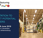Invitation to meet potential buyers at Manufacturing Indaba