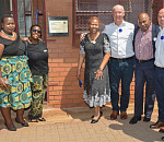 BMW Group South Africa hands over refurbished Ntsha-Peu Primary in Soshanguve.