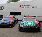 Audi Sport in South Africa with two