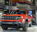 Preview of the new Jeep® Renegade Plug-in Hybrid (PHEV) at MotorVillage Champs-Elysées Paris