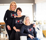 Dawn Nathan-Jones, Lesley Waterkeyn and Sandy Van Dijk - Authors of Hope Stories