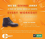 Win these amazing Boots!