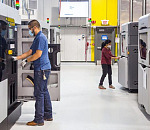 GM installed 17 production-grade Stratasys FDM® 3D printers at the end of 2019, turning to 3D printed tooling for speed, weight reduction and cost efficiency on its production lines.