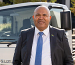 Billy Tom, Isuzu Motors South Africa Chief Operating Officer and Managing Director