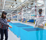 Audi is using augmented reality to increase efficiency in logistics planning