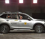 Subaru Forester tops the combined small off-road/small MPV class of the safest cars tested by Euro NCAP in 2019