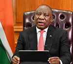 President Cyril Ramaphosa addresses the nation. GCIS