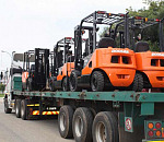 The short-term rental division has a big fleet of a wide variety of equipment