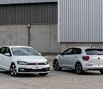 The Volkswagen Polo is the first model range in South Africa to have the new brand logo