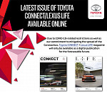 Latest issue of Toyota Connect/Lexus Life available online