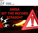 Steel industry: AMSA vs the Steel Downstream. NEASA (once again) sets the record straight