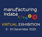 Virtual Manufacturing Indaba Exhibition: Register to participate on 9 - 10 December 2020