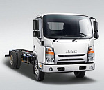 JAC Motors' N56 3-tonne truck, best urban logistics solution