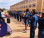 Engen and Caring4Girls visit Tshedimosetso and Kanana Secondary schools