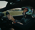 McLaren Formula 1 driver Daniel Ricciardo drives the new McLaren Artura ahead of global reveal at 00:01 GMT on February 17