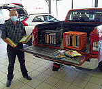 Mitsubishi drives generous donation of books for JOE lil'brary from Western Cape journalists