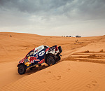 Toyota Gazoo Racing completes tough first half of marathon stage at Dakar 2020
