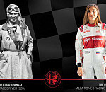 Alfa Romeo pays tribute to female racing drivers